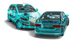 California Car Accident 3D Image Reconstruction